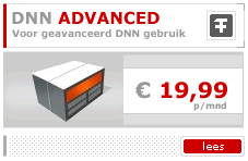 DotNetNuke Hosting Plan Advanced
