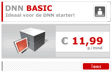 DotNetNuke Hosting Plan Basic